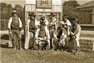 Iron horse gunslingers