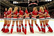 Fan's of the Chicago Blackhawks