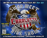 Charlotte CBA Swap Meet and Bike Show