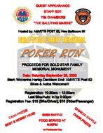 Gold Star Family Memorial Poker Run