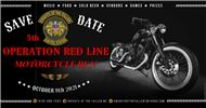 5th Annual Operation Red Line Motorcycle Run