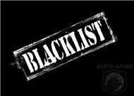 BLACKLIST - SNITCHES, POSERS, STALKERS OF BON