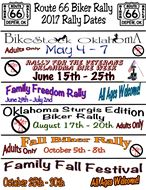 Route 66 Biker Rally