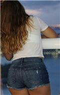 Bon women in their shorts & tank tops