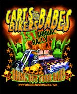 Carts bikers and babes