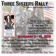 Three Sisters Rally